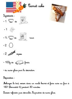 Carrot Cake Maternelle