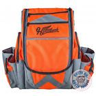 NEW Millennium Hyzerbomb FlakX Backpack Disc Golf Bag - ORANGE / GRAY