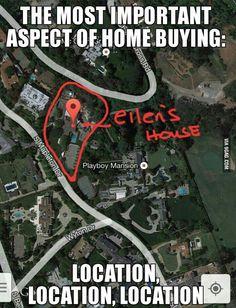 Ellen DeGeneres sure knows how to pick real estate!