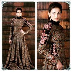 Shilpa Reddy wearing Shilpa Reddy corset-bodied Malkha dress