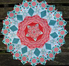 Art Escapes: La Passacaglia Millefiori quilt, Tessellations & Vintage Stars