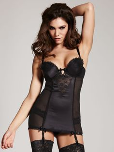 666ac3d2dfa6b Rhea Black Cami Suspender - Buy Online at Ann Summers Black Lingerie