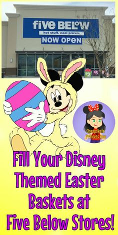 2b5947e42f9 Fill Your Disney-Themed Easter Baskets at Five Below Stores
