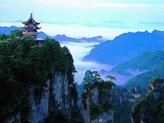 Huangshi Village, located in Wulingyuan Scenic Area in Zhangjiajie, Hunan