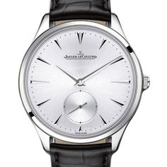 Jaeger-LeCoultre Master Ultra Thin - Iconic Watches.