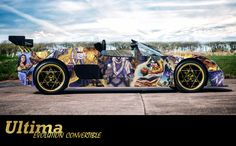 An Ultima Evolution Convertible Done Up in #Ultima Stylings  http://ultimacodex.com/2015/09/an-ultima-evolution-convertible-done-up-in-ultima-stylings/
