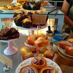 Tea and cake from Carpenter and Cook, Lorong Kilat, Singapore