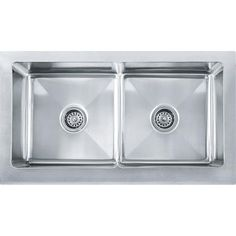 32 best stainless steel farm sinks images apron front kitchen sink rh pinterest com