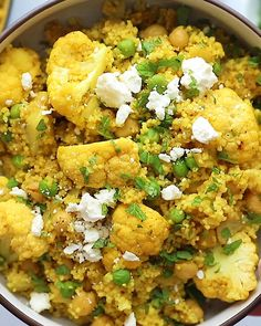 This gorgeous, anti-inflammatory Moroccan Chickpea Couscous Skillet is a healthy vegetarian meal that's freezer-friendly! Chickpea Couscous Recipe, Couscous Meals, Vegan Couscous Recipes, Couscous Healthy, Healthy Recipe Videos, Easy Healthy Recipes, Vegetarian Recipes, Cooking Recipes, Superfood Recipes
