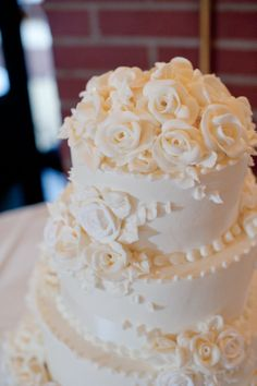 Wedding Cakes are part of our Wedding Package at Edgewood Country Club! www.eccgolf.com