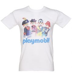 A great educational tool, and some good old fashioned FUN, #Playmobil was a big part of many childhoods! Pay homage in style with this awesome tee, exclusive to TruffleShuffle. xoxo