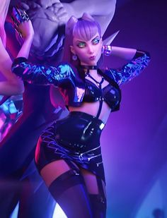 Evelynn League Of Legends, Katarina League Of Legends, League Of Legends Characters, Lol League Of Legends, Fantasy Characters, Female Characters, Anime Characters, Female Character Design, Game Character