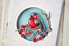 Ekaterina Winter Card Chameleon Color, Chameleons, Winter Cards, Art Blog, Thank You Cards, Pens, Cardmaking, Helpful Hints, Markers