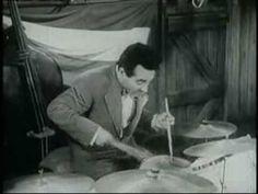 Gene Krupa in action - 1947