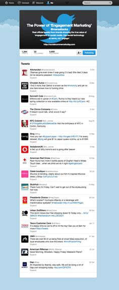 Errores de las marcas en Twitter #infografia #inforgaphic #marketing #socialmedia