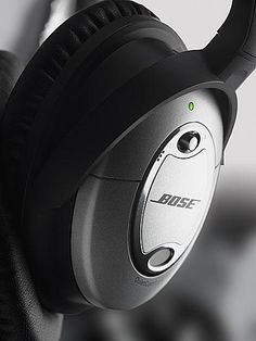 Bose Quiet Comfort Noise Cancelling Headphones. One of these days I'll put the request in at work to get a pair!