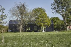 For Sale: Bressingham, Norfolk Contemporary Barn, Contemporary Bedroom, Thetford Forest, Suffolk House, Steel Barns, Shed Homes, Barn Homes, Steel House, Private Garden