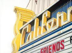 California Theatre Berkeley - Beautiful prints of theatre marquees