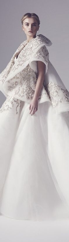 ℳiss Giana's Gorgeous Gowns ♛ ♛ Poppy Pea Spring 2016 Haute Couture Ashi Studio