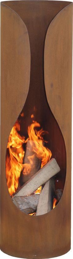 Tuinhaard Masaya is een zeer unieke tuinhaard. De tuinkachel Masaya heeft een erg mooi rond design met een ruime opening van het stookgedeelte welke sierlijk naar boven uitloopt. Daarnaast is deze tuinhaard voorzien van een uitneembare aslade en rooster, erg handig met schoonmaken! Geniet met vele jaren stookplezier van deze tijdloze haard!  Tuinhaard Masaya is gemaakt van corten, dit zorgt ervoor dat deze haard een mooie egaal roestbruine kleur heeft.