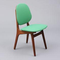 Organic teak chair, 1960s