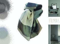 8b96b6b83049 Etsy    Acheter, vendre et vivre Handmade. Foulard GrisCravateVeloursLaine  ViergeChineFait Main