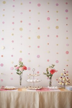 New Wedding Table Garland Diy Backdrops 49 Ideas Circle Garland, Diy Garland, Garlands, Wedding Table Garland, Wedding Decorations, Diy Backdrop, Backdrops, Party Desserts, Dessert Party
