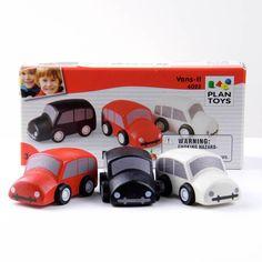 Wooden Toy Mini Vans