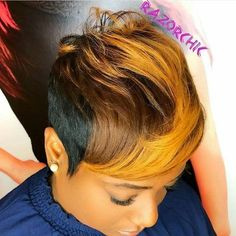 Great Short Hairstyles for Black Women – My hair and beauty Short Sassy Hair, Short Hair Cuts, Short Hair Black Girls, Pixie Cuts, Short Black Hairstyles, Girl Hairstyles, Hairstyles 2016, Boy Haircuts, Straight Hairstyles