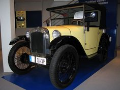 El primer carro de #BMW se llamaba #Dixi