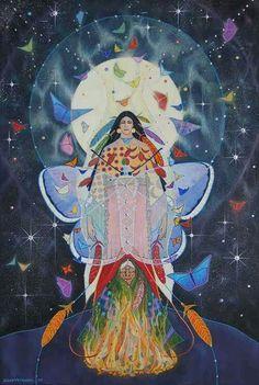 Ellen Uytewaal, Art - Goddesses, Muses & Spiritual Art - Freydoon Rassouli & Others