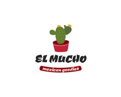 Mexican food logo template - Download it now! | Logo Instant -  This mexican food logo template is great for restaurants or latino crafts and branding. This free logo design is layered and easy to customize as everything in this template can be edited, resized and recolored fast and effectively. All fonts used for this freebie logo are free and links to download these are included.