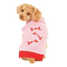 I'm learning all about Ethical Pet Products Fashion Everyday 517Psm Pink Pink Bonz Sweater Small at @Influenster!
