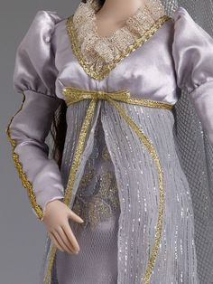#pinned a #detail shot of the Sleeping Beauty - Outfit from our Re-Imagination Collection. #dollchat ^kv
