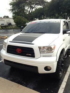 Stock Limited Edition Tundra When First Purchased Toyota - Custom tundra truck decals