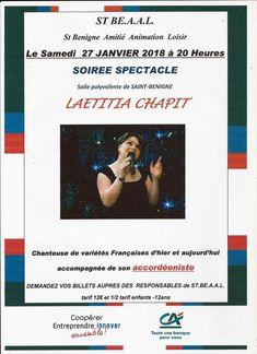 Saint-Bénigne : une soirée spectacle présentée par Saint-Béaal.