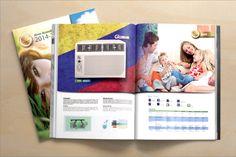 Impresion de catálogos 2014-2015 Aires Acondicionados Glux.