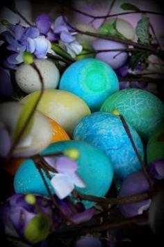 Spring Equinox:  Colored eggs.