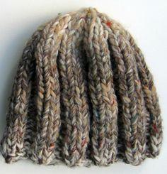 Knit: Easy Ribbed Beanies | Kollabora