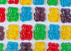 Follow these simple recipes and make your own fruity gummy candy at home, including gum drops and DIY gummy bears.