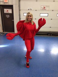 Crab costume More...