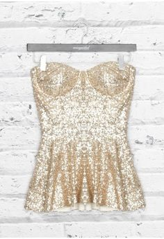 OMG I love this.....would be great with jeans for New Years