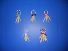 corn dollies how to make lovers knot