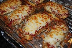 101 Cooking For Two - Everyday Recipes for Two: Chicken Parmesan...I used Bertolli organic Tomato & Basil sauce instead of homemade sauce easier & faster! VERY GOOD!!