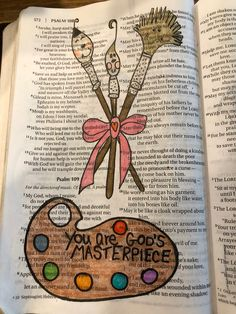 You are God's masterpiece. #biblejournaling