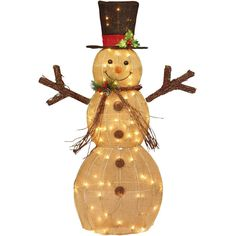 Trim a home 48 150ct white snowman holiday outdoor pinterest christmas decor lighted snowman 48 indoor outdoor yard xmas holiday decoration workwithnaturefo