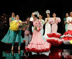 Simof 2017: José Raposo, ganador del certamen de noveles de moda flamenca