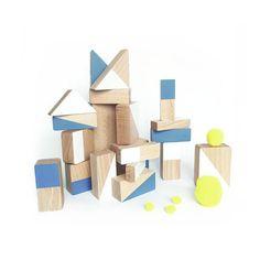 Bloques de Construcción de Madera | ChinPum - MAD design