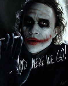 The Joker ~ Heath Ledger