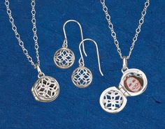 Tiny Celtic Knotwork Jewelry